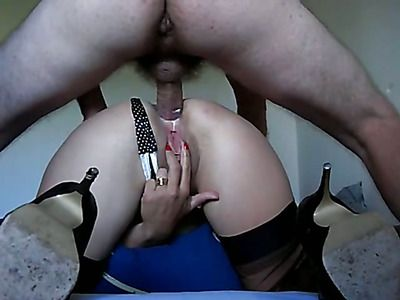 Hungry slut get fucked up the ass.