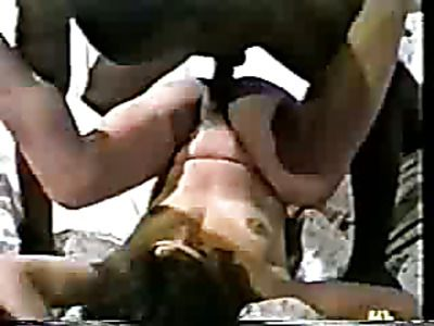 Brunette wife gets fucked by a black man
