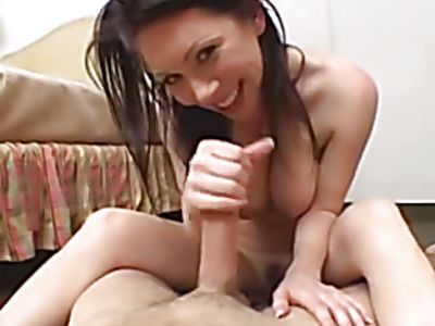 Beautiful blonde sucks and fucks a hard cock.
