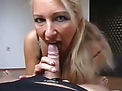 Super sexy babe seduces handsome stud.
