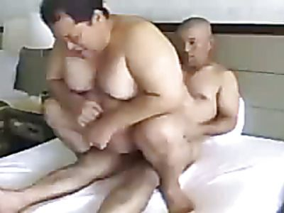 Two gay men finger and fuck their asses.