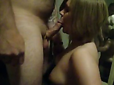 Wife sucks a dick in different positions.