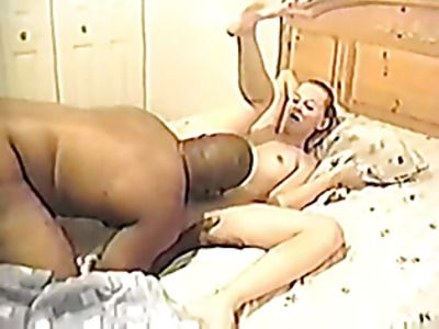 White slut gets fucked by a black dick.